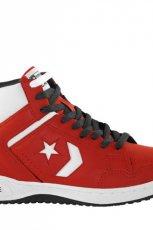 czerwone trampki Converse - z kolekcji jesie�-zima