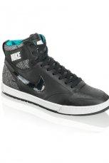 czarne trampki Nike - jesie�/zima