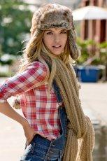 br�zowa czapka Camaieu - jesie�/zima 2010/2011