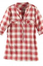 czerwona koszula Camaieu w kratk� - kolekcja jesienna