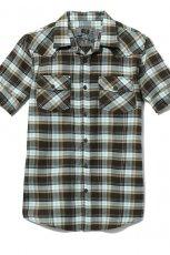 czarna koszula Cropp w kratk� - jesie�/zima 2010/2011