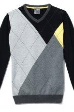 czarny sweter Cropp - jesie�/zima 2010/2011