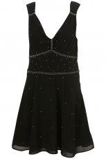 czarna sukienka Topshop - trendy na jesie�-zim�