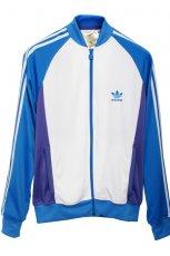 niebieska bluza Adidas rozpinana - jesie�/zima 2010