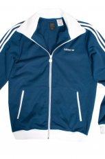 granatowa bluza Adidas rozpinana - z kolekcji jesie�-zima
