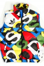 kolorowy bezr�kawnik Adidas - kolekcja jesienno-zimowa