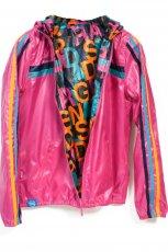 r�owa kurtka Adidas z kapturem - trendy na jesie�