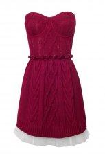 r�owa sukienka Stradivarius - jesie�/zima 2010/2011