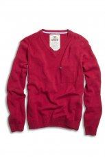czerwony sweter Kappahl - jesie�-zima 2010/2011