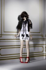 bia�a sukienka H&M - jesie�-zima 2010/2011