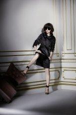 czarny p�aszczyk H&M - jesie�-zima 2010/2011