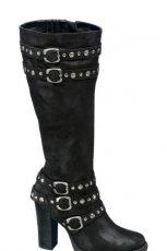 czarne kozaki Deichmann - moda 2010