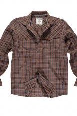 br�zowa koszula Big Star - jesie�/zima 2010/2011