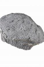 szary beret Top Secret - sezon jesienno-zimowy