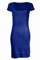 niebieska sukienka Top Secret - moda jesie�/zima 2010