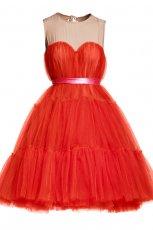 czerwona sukienka H&M - jesie�/zima 2010/2011