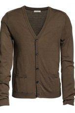 br�zowy sweter H&M - jesie�/zima