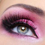 Zdj�cie 12 - Makija� wieczorowy oczu - karnawa�