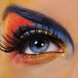 Zdj�cie 3 - Makija� wieczorowy oczu - karnawa�