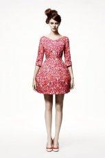 r�owa sukienka H&M - wiosna/lato 2011