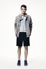 popielaty sweter H&M - wiosna/lato 2011