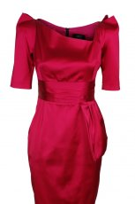 czerwona sukienka od Simple - jesie�/zima 2010/2011
