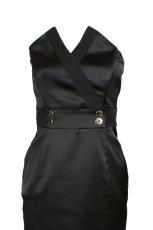 czarna sukienka odcinana pod biustem Simple - jesie�/zima 2010/2011