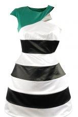 czarno-bia�a sukienka Simple - jesie�/zima 2010/2011