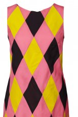 r�owa sukienka H&M w kratk� - wiosna/lato 2011