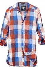kolorowa koszula H&M w kratk� - wiosna/lato 2011