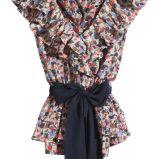 kolorowa bluzka H&M - kolekcja wiosenno/letnia
