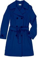 niebieski p�aszczyk Bialcon - kolekcja wiosenno/letnia