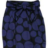czarna sp�dnica Bialcon w grochy - moda 2011