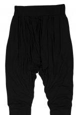 czarne spodnie Bialcon alladynki - moda wiosna/lato