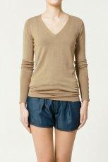 be�owy sweter ZARA - moda 2011