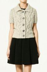 szary sweter ZARA - trendy wiosna-lato