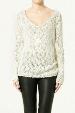 bia�y sweter ZARA - wiosna-lato 2011