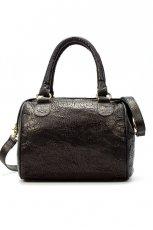 czarna torebka ZARA - moda wiosna/lato