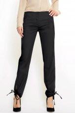 czarne spodnie Mango - wiosna-lato 2011
