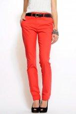 czerwone spodnie Mango - wiosna/lato 2011