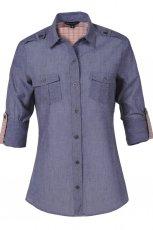 niebieska koszula Troll - trendy wiosna-lato