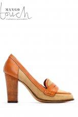 br�zowe pantofle Mango - moda 2011