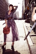 fioletowa sukienka Reserved - wiosna/lato 2011