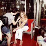 bia�e spodnie Reserved - moda 2011