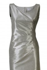 srebrna sukienka Molton - z kolekcji wiosna-lato 2011