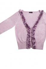fioletowy sweter Mohito rozpinany - kolekcja wiosenno/letnia
