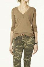 br�zowy sweter ZARA - z kolekcji wiosna-lato 2011