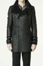 czarna kurtka ZARA - wiosna 2011