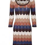 kolorowa sukienka Stradivarius - trendy wiosna-lato