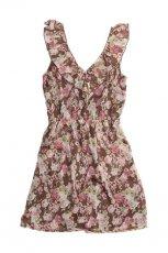 sukienka Pull and Bear w kwiaty - letnia kolekcja